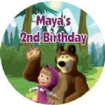 Masha and the Bear Stickers